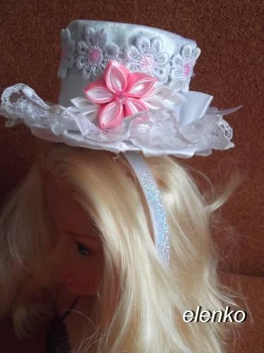 Шляпа на ободок своими руками мастер класс